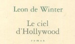 Winter Leon de   Le ciel d'Hollywood   Seuil