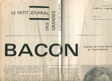 p Bacon Le Petit Journal des Grandes Expositions 1971 p p br p p Sylvester David p