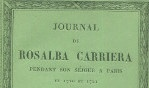 Carriera, Rosalba   Journal paris 1865 alfred sensier