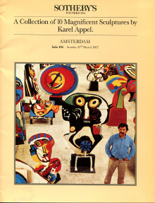 Karel Appel - A Collection of 10 Magnificent Sculptures by Karel Appel, Amsterdam, 22 mars 1987 - Wingen, Ed. (préface)