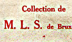 Collection MLS - Bruxelles 1930