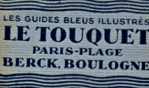 Le Touquet   guide bleu